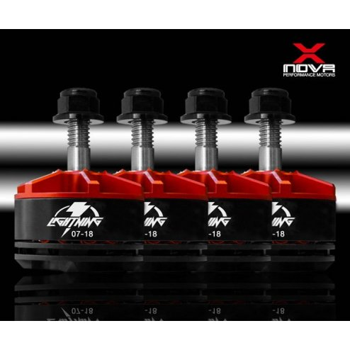 XNOVA Lightning 2207 1800 KV Motoren Set (4 Stk.)