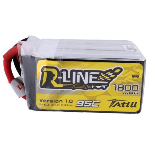 Tattu R-Line LiPo Akku 6S 1800 mAh 95C