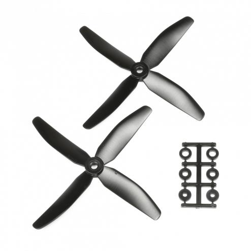 HQProp 5040 Vierblatt 2 Stk. CCW Schwarz - 5X4X4_B