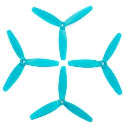 Lumenier 5040 5x4x3 Dreiblatt Propeller blau (4 Stück)