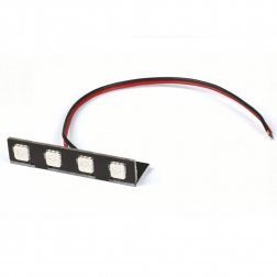 Graupner LED Winkelleiste rot