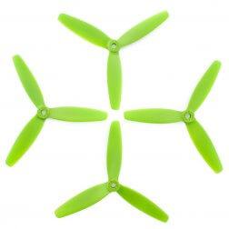 Lumenier 5040 5x4x3 Dreiblatt Propeller grün (4 Stück)