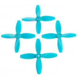 Lumenier 4040 4x4x4 Vierblatt Propeller blau (4 Stück)