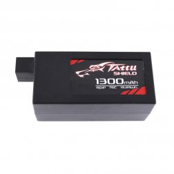 Tattu Schield Hardcase LiPo Akku 4S 1300 mAh 75C - Gens Ace