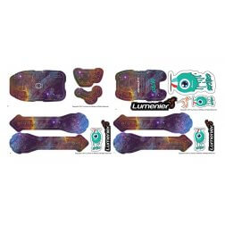 QAV-SKITZO Dark Matter Sticker Set - Pelican