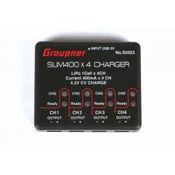 Graupner USB 4x Ladegerät für Alpha 110 Akkus