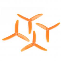 HQProp 5040 Dreiblatt Orange - 5X4X3 (4 Stk.)