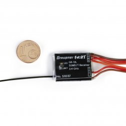 Empfänger GR-12L SUMD HoTT 2.4 GHz 8 Kanal - Graupner