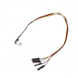 GoPro Hero 3 / 4 Live-Out FPV USB Kabel