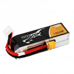 Tattu Racing Serie LiPo Akku 4S 1800 mAh 75C - Gens Ace