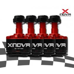 XNOVA Supersonic 1407 3500 KV Motoren Set (4 Stk.)