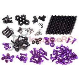 """ImpulseRC Alien 5"""" & 6"""" Full Screw Pack - Purple"""