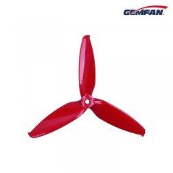 Gemfan Flash 5152 Dreiblatt Propeller - Ferrari Rot (4 Stk.)