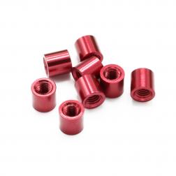 Aluminium Spacer Rot 5 mm (8 Stück)