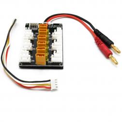 RCTech Parallel Charging Board 6 Fach XT30