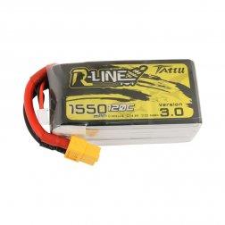 Tattu R-Line LiPo Akku 4S 1550 mAH 120C V3.0