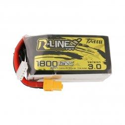 Tattu R-Line LiPo Akku 4S 1800 mAH 120C V3.0