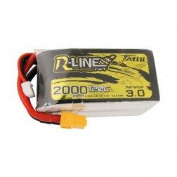 Tattu R-Line LiPo Akku 4S 2000 mAH 120C V3.0
