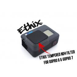 ETHIX Tempered ND4 Filter for GoPro 7 & 6