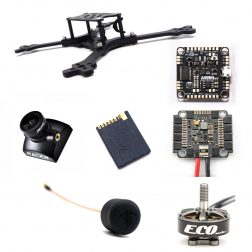 Source Two Racing Copter Set 6S mit FPV (ARF)