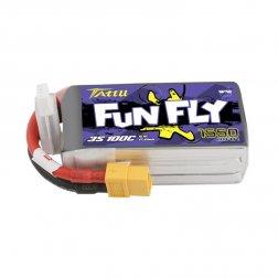 Tattu Funfly LiPo Akku 3S 1550 mAh 100C