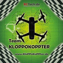Startmatte 'Team KloPPoKoPPter' Grün