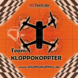 Startmatte 'Team KloPPoKoPPter' Orange