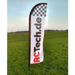 Beach Flag Fahne für Racetrack - RCTech.de