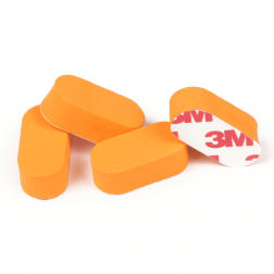 Neoprene Landing Pads (4 Stk.) RCTech Orange