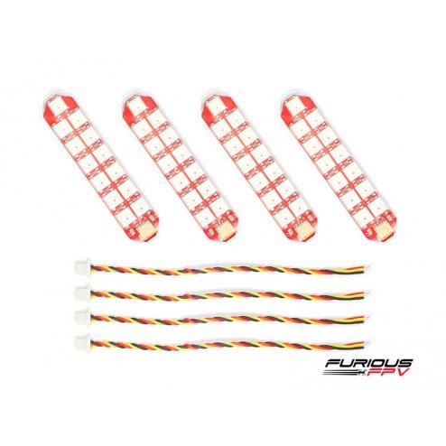 FuriousFPV Double Row LED Strip (4 Stück)