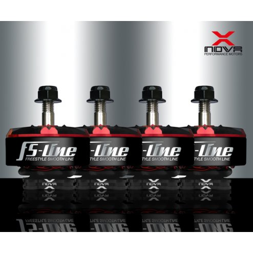 XNOVA Freestyle Smooth Line 2207 1700KV Motoren Set (4 Stk.)