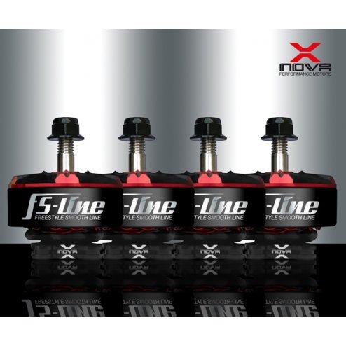 XNOVA Freestyle Smooth Line 2207 1700 KV Motoren Set (4 Stk.)