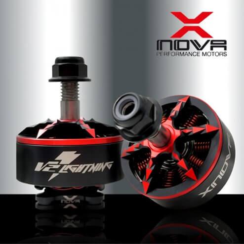 XNOVA Lightning 2208 Motoren Set 1900 2500 2700 KV (4 Stk.)