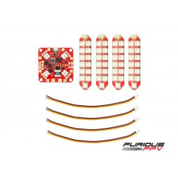 Furious FPV Lightning PDB with Double Row LED Strip