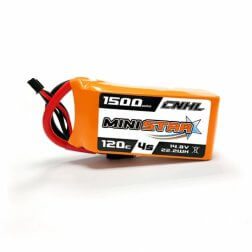 CNHL Mini Star 4S 1500 mAh 120C LiPo Akku
