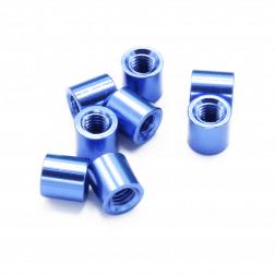 Aluminium Spacer Blau 5 mm (8 Stück)