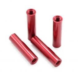 Aluminium Spacer Rot 20 mm (4 Stück)
