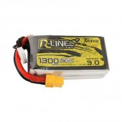 Tattu R-Line LiPo Akku 4S 1300 mAH 120C V3.0