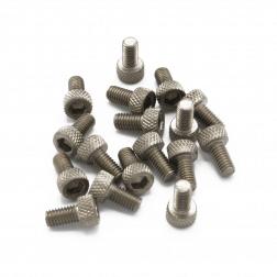 Zylinderkopfschrauben M3 x 6 mm Titan (20 Stück)