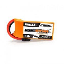 CNHL Mini Star 6S 1250 mAh 70C LiPo Akku