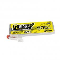 Tattu R-Line LiPo Akku 1S 500 mAh 95C