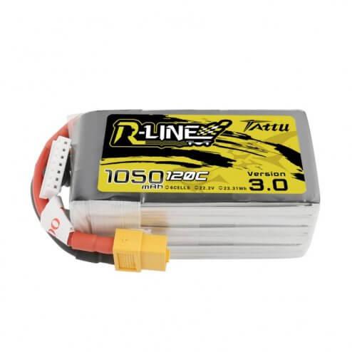 Tattu R-Line LiPo Akku 6S 1050 mAh 120C V3.0