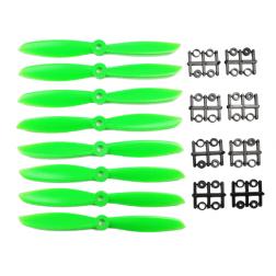 8 x Propeller 6 Zoll 6045 ABS grün - Gemfan