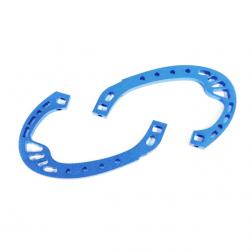 Dquad Obsession Aluminum Roll Cage Blau (2 Stk.)