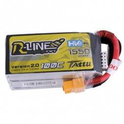 Tattu R-Line LiPo Akku 4S 1550 mAh 100C HV
