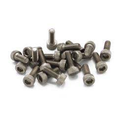 Zylinderkopfschrauben M3 x 8 mm Titan (20 Stück)