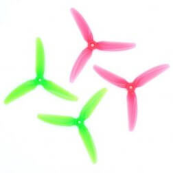 HQProp Ethix S3 Watermelon Propellers (4 Stk.)