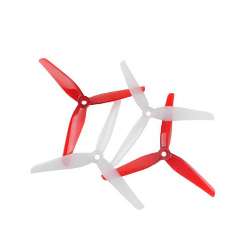 HQProp Ethix P4 Candy Cane Propeller (4 Stk.)