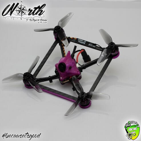 North Frame V2 by FPV-Couple and friends