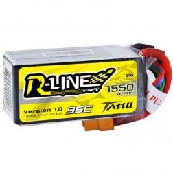 Tattu R-Line LiPo Akku 4S 1550 mAh 95C